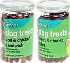 DOG TREATS - 200g - Pet Training Treat Tub Puppy Food Bite bp Chew Feed Snack g