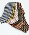 Cavenagh of London 7Piece 100% Pure Silk Ties Made in UK (501D)RRP£139.99