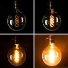 Dimmable ST64/G125/A19 Vintage Edison LED Filament Bulbs Retro Antique Light E27