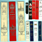 BOOKMARK LEATHER Stratford Upon Avon William Shakespeare Birthplace Book Gift