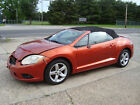 2009+Mitsubishi+Eclipse+Spyder+GS+Convertible+Salvage+Rebuildable+Repairab