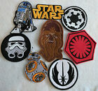 Star Wars embroidered patch iron or sew on to clothing or bags