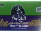 gravy bones chicken or beef chewdles dog treat