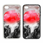 WTF | Rising Sun Mountains | Rubber or plastic phone cover case | #1 Jpan JDM