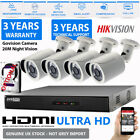 Hikvision CCTV Full HD 1080P 2.4MP Night Vision Outdoor DVR Home Security Kit