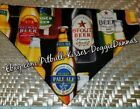 DOG BANDANA Over Collar XS-L BEER BREWERY ALE HOMEBREW Craft Alcohol Summer NEW