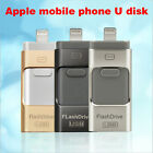 128GB i Flash Drive USB Memory Stick HD U Disk 3 in 1 for Android/IOS iPhone PC