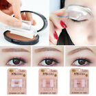 Eyebrow Stencil Stamp Natural Stick Perfect Look Eye Makeup Shadow Tool Sponge