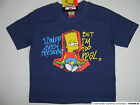 The Simpsons T-Shirt  dunkelblau neu!!