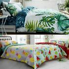 Luxury Botanical & Fruits Duvet Set Quilt Cover Bedding Set With Pillow Cases