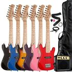 "Raptor 30"" 1/2 Size Kids Electric Guitar Package with Amp, B"