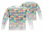 """Sesame Street """"Color Block"""" Dye Sublimation Double Sided Long Sleeve Tee"""