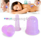 Anti Cellulite Silicone Massage Vacuum Cupping Cup Set Slimming Body Facial Cups for sale  Shipping to Ireland