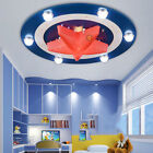 Modern American Captain Hero LED Ceiling Light Pendant Lamp Children Room Light