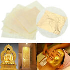 2 10pcs 24K Pure Gold Edible Real Gold Leaf Sheet Gilding Craft Mask SPA 4.33cm