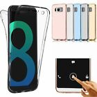 360 Degree Full Body Protective Soft TPU Case For Samsung Galaxy S8 / S8 Plus