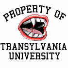 University of Translyvania Teeth t-shirt white 100% cotton