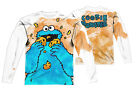 """Sesame Street """"Cookie Crumbs"""" Dye Sublimation Double Sided Long Sleeve Tee"""