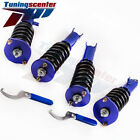 Coilovers Height Adjustable Lowering Coilovers For Nissan 300ZX 90 96 Z32  TCK