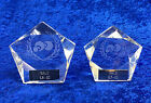 Lawn Bowls Glass Trophy Award Tournament Competition FREE Engraving