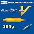 """DOLPHIN SLIDE ACTION""JIG SEA RIDE V 180g By BLUEBLUE FISHING TOKYO"