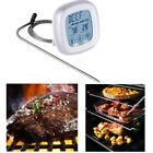 Touch Screen Digital BBQ Grill Meat Thermometer Kitchen Cooking Food Probe Timer