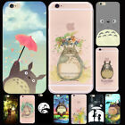 Totoro Japan Anime Cartoon Movie Cute Print Phone Case Cover For iPhone 6/7 Plus