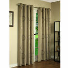 Thermalogic Brook Blackout Printed Grommet Top Curtain