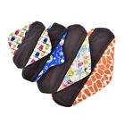 S/M/L/XL Small Panty Liners Charcoal Bamboo Reusable Cloth Mama Menstrual Pads F