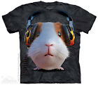 DJ Guinea Pig T-Shirt from The Mountain - Adult S - 5X & Child S - XL