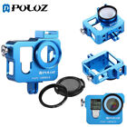 PULUZ  For GoPro HERO4 Housing Shell Metal Protective Cage+ 37mm UV Lens Cap