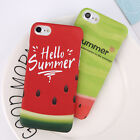 Fashion Cute Summer Fruits Cases Watermelon Phone Case For iPhone6/6s plus7/7p