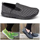 Womens Ladies Slip On Get Fit Go Comfort Insole Pumps Gym Fitness Trainers Shoes