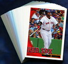 2010 Topps Boston Red Sox Baseball Card Your Choice - You Pick