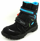 SUPERFIT  Winterboots  schwarz  GORE-TEX  wasserdicht  WARM  080-01  KLETT