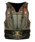Bane Vest Dark Knight Rises Military Tactical Tom Hardy Costume Leather Jacket