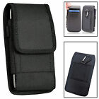 Rugged Nylon Vertical Wallet Belt Pouch Cover For Various Phones PDA IPOD <br/> Apple HTC Huawei LG Motorola Nokia Samsung Sony