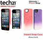 NEW Tech21 D3o Impact Snap Case for iPhone 5/5s/SE - Purple/Pink
