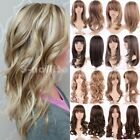 how to ombre red hair - Natural Hair Wig Long Curly Straight Ombre Wigs Women Ladies Cosplay Party Dress
