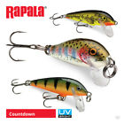 Rapala Countdown Lures - Pike Perch Zander Salmon Sea Trout Bass Fishing Tackle