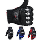 Men Tactical Hard Knuckle Cycling Biker Outdoor Motorcycle Full Finger Gloves US