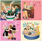 Birthday Greeting Cards by Beryl Cook - Bottoms Up, Girls Night Out, B/day Drink
