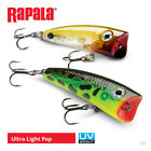 Rapala Ultra Light Pop Lures - Pike Perch Bass Wrasse Predator Fishing Tackle