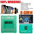 RSIM 12+ 2018 R-SIM Nano Unlock Card fits iPhone X/8/7/6/6s/5S/ 4G iOS 11 12 Lot