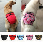 2017 Reusable Washable Dog Diaper Breeds Physiological Pants Female Big Dog SF