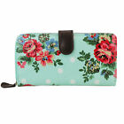 New Woman Ladies Floral Bifold Purse Wallet Coin Credit Card Holder Picture