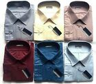 Mens Big Size Tom Hagan Long Sleeve Shirts Button Up Front & Cuffs Top Pocket