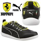 PUMA SHOES TECH LO EVER-FIT LO FERRARI SCUDERIA TRAINERS RRP £90