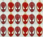 Wholesale Enamel Key Spider Man Charm Pendants DIY Jewelry Making Free shipping