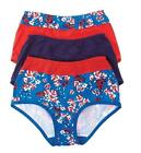 3 Pack - Comfort Choice Women's Plus Size Full Brief Cotton Panties Knickers